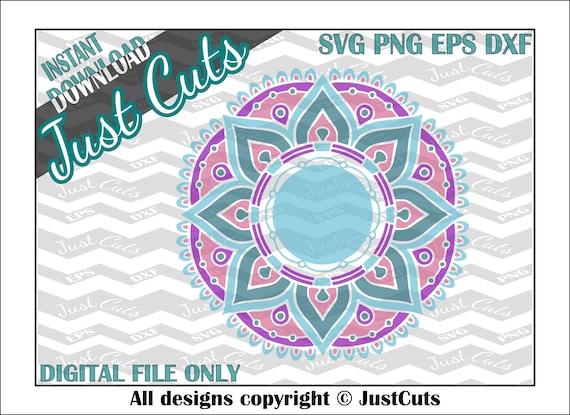 Download Mandala SVG, mandala, layered svg, intricate svg, svg, eps ...