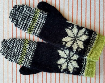 Snowflake Mittens