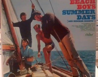 Beach Boys 1965 Summer Days and Summer Nights. LP Vintage Vinyl