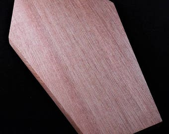 Chopping Block - coffin shaped cutting board