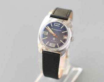 Vostok,Komandirskiye, wristwatch gilted case AU20,ussr, retro watch, wostok watch, cal 2234, soviet watch