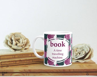 Book Lover Mug, Book Definition, Bookish Mug, Bookish Gift, Librarian Gift, Book Lover Christmas Gift, Bookworm Gift for Her, Bookish Merch
