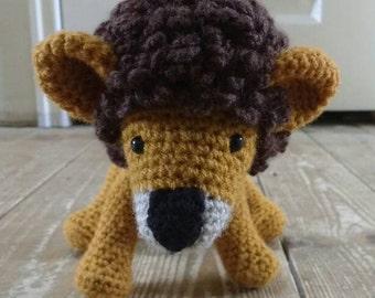 Crocheted Lion - Amigurumi