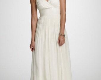 J Crew Silk Wedding Dress