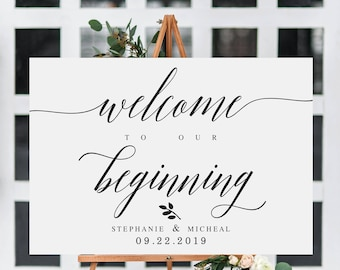 welcome sign templates