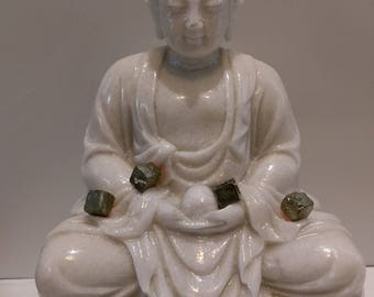 Pyrite 11 g healing stone, reiki, meditation stone, stone of spirituality