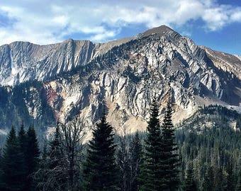 Montana Landscape, Mountain Photography, Natural Beauty Wall Art