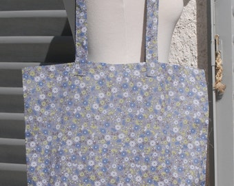 Tote bag in liberty fabric