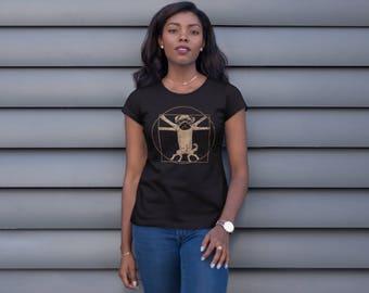 Women's Pug T Shirt - Pug Lover Gift - Pug Shirts - Funny Pug Gifts