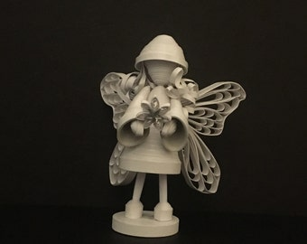 "Angel - 3D Quilling Art - 1/8"" (3mm) paper strips"