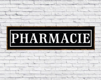 Pharmacie Sign, Magnolia Farms, Modern Farmhouse, Fixer Upper Print, Printable, Cuttable, SVG, Digital File, DXF, Cut File, Vector