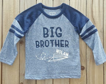 Big Brother announcement Shirt, Matching Brother Shirts, Baby Announcement, brother shirts, sibling shirts, sibling shirt set, big brother