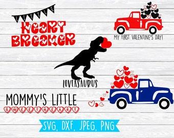 Valentine Svg Bundle, Svg bundle, Valentine, Svg, Valentine Svg files, Valentine Truck, Valentine svg designs, valentine svg kids, Boys, DXF