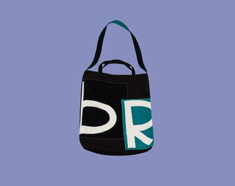 Bag with letters