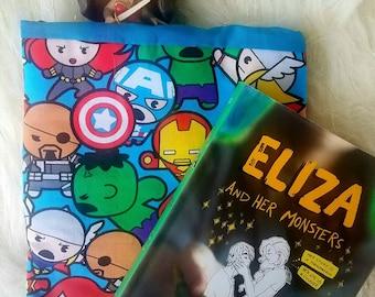 Chibi Superhero Tablet/Book Sleeve