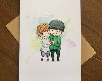 Heart in Hands - LGBT Valentine's Day Card