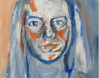 Your portrait on canvas