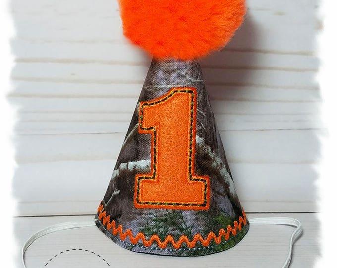 Dog Birthday Hat, Camouflage Dog Party Hat, Birthday Hat for Dogs, Dogs First Birthday, Gotcha Day, Camo Birthday Hat, Cake Smash