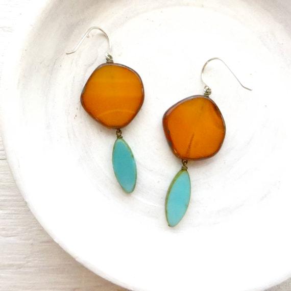 Hue Earrings > Goldenrod