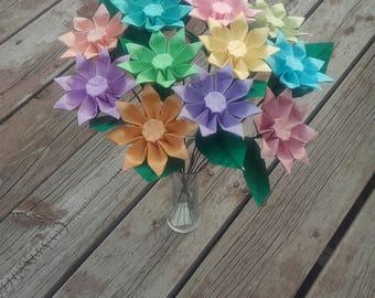 Origami Cosmos Flower