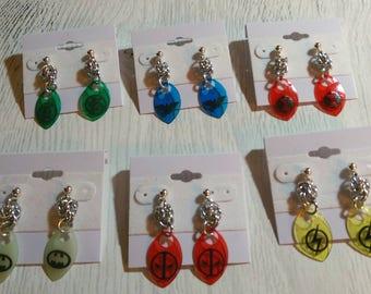 Superhero Earrings - Pick your Favorite!