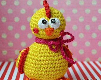 Crochet pattern - Chicken - Eastern Decoration / Crochet toy / Digital pattern / Amigurumi /DIY