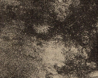1912 Clouds of stars of the Via Lactea, 658 Original Vintage Space Astronomy Print