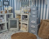 DOLLHOUSE LAUNDRY BOXES