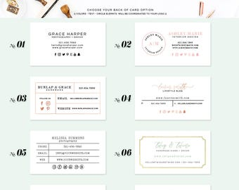 Add On Business Card Design - custom branding - skubc 01