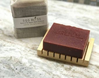 Cabernet Sauvignon Wine Soap Gift For Her Gift For Him Spa Gift Hostess Gift Birthday Red Soap Wine Soap