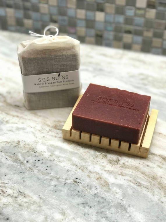 Cabernet Sauvignon Wine Soap - Red Wine Soap