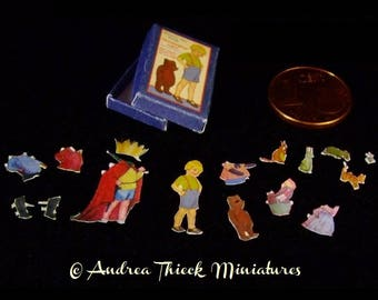 Winnie the Pooh Paper Dolls - 1:12 scale