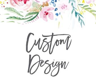 Custom Design; Digital File; DIY Printing