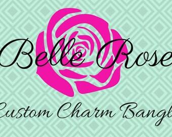 Custom Charm Bangle