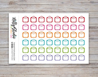 Scales Stickers | Weight Tracking, Fitness, Exercise Stickers | Planner Stickers | The Nifty Studio [157]