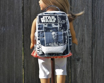 18 inch Doll Clothes 15 inch Doll Clothes Dresses American Made Girl Boys Baby Doll Star Wars Doll Backpack Doll Accessories Gift Under 30