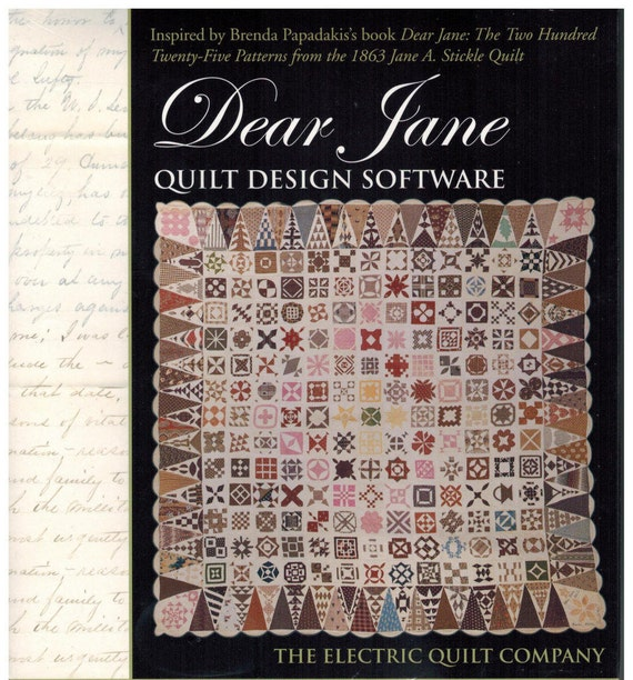 Dear Jane Quilt Design Software from The Electric Quilt : the electric quilt company - Adamdwight.com