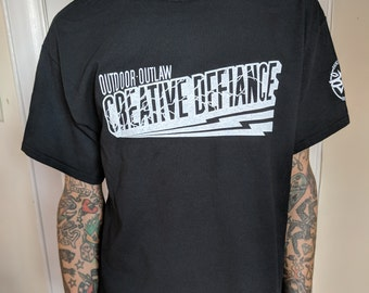 Creative Defiance Tee by Baltimore Graffiti artist Adam Stab