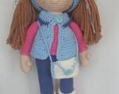 Amigurumi Crochet Doll Stuffed Toy Kids soft toy unique