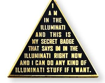 Illuminati Lapel Pin