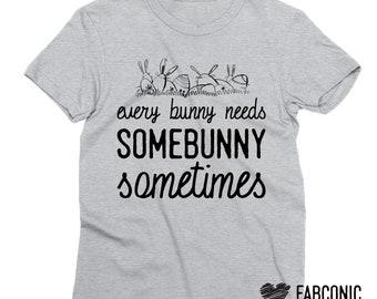 Easter shirt, Easter bunny shirt, Somebunny shirt, Some bunny shirt, Easter baby shirt, Easter kid shirt, Bunny ears shirt,