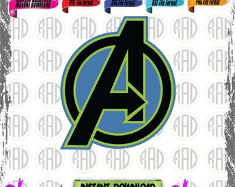 Avengers, Cut Files, EPS, SVG, PNG, Vector