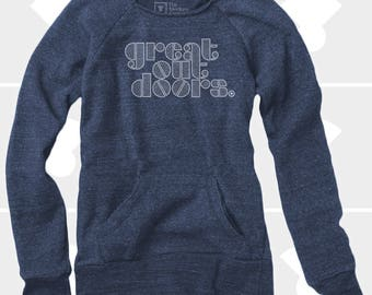 Great Outdoors - Women's Slouchy Sweatshirt