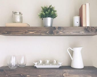 Floating Shelves - Modern Shelf - Shelving - Shelf - Wall Shelves - Kitchen Shelf - Home Decor - Chunky Shelves - Shelves - Bathroom Shelf