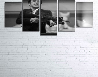 Scarface 5pc Wall Canvas