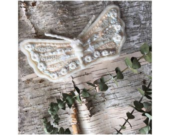 Embroidered Moth