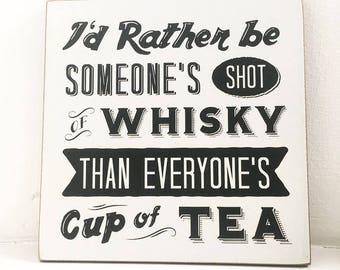 Whiskey Shot Wall Hanger