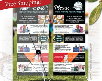 plexus Event Banner - Product Information Banner - FREE SHIPPING