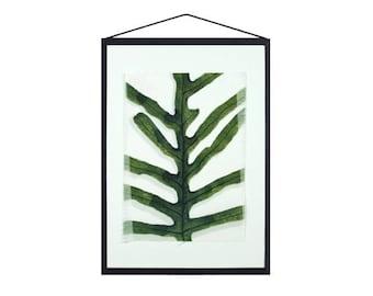 Fern leaf, Textile print