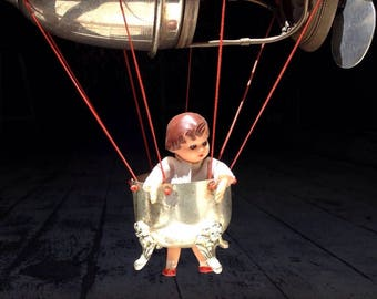 Flying Art doll- traveller